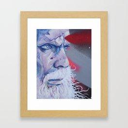 Ya See? Seen. Framed Art Print