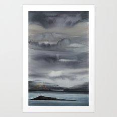 mare del nord 2 Art Print