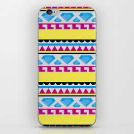 Aztec pattern iPhone Skin