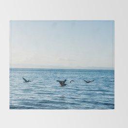 Flying Flock Throw Blanket