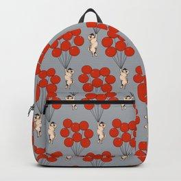 I Believe I Can Fly Pug Backpack