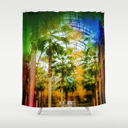Conservatory  in the earlier WTC Shower Curtain