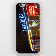 Diner Love iPhone & iPod Skin