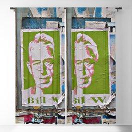 A Bill Among Playbills Blackout Curtain