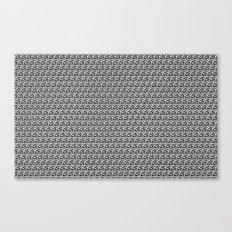 Pencil Sketched Circles Canvas Print