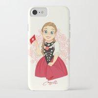 switzerland iPhone & iPod Cases featuring Switzerland by Melissa Ballesteros Parada