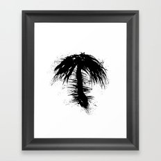 By The Palm Framed Art Print