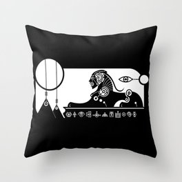 Great Sphinx Throw Pillow