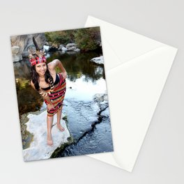 Indian Woman Stationery Cards
