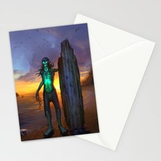 Toxic Surfer Stationery Cards