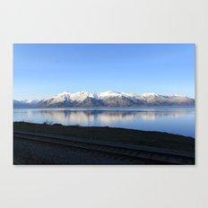 The Alaskan Railroad Canvas Print