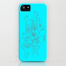 Se me van las cabras al monte iPhone Case