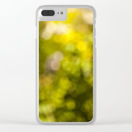 Beautiful bokeh Clear iPhone Case
