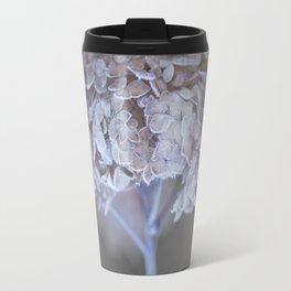 Frost Petals Of Hydrangea #decor buyart #society6 Travel Mug