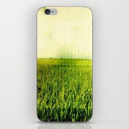 Green Meadow iPhone Skin