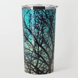 Vibrant Vignette Travel Mug