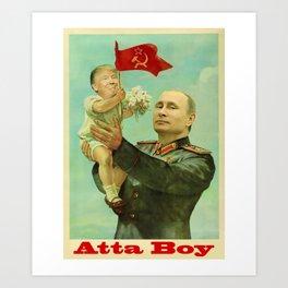 Atta Boy Art Print