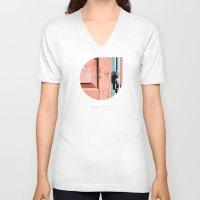 sagittarius V-neck T-shirts featuring Sagittarius by bialakura