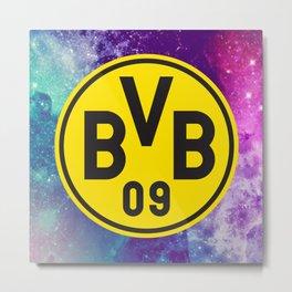 Borussia Dortmund FC Galaxy Metal Print