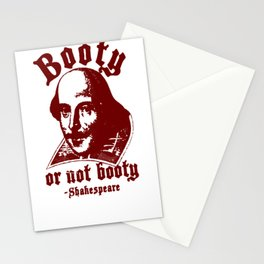 BOOTY OR NOT BOOTY T-SHIRT Stationery Cards