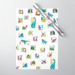 Alphasaurus Rex Wrapping Paper
