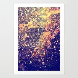 Cosmic Glitz Art Print