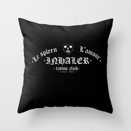 Le spleen - L'amour. Throw Pillow