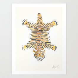 Tiger Queen of Ranthambore, Wall Art Art Print