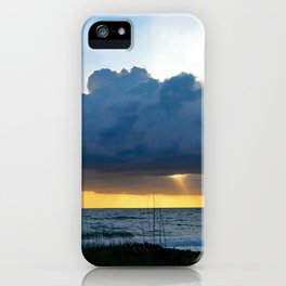 Breaking Morning on Hutchinson Island iPhone Case