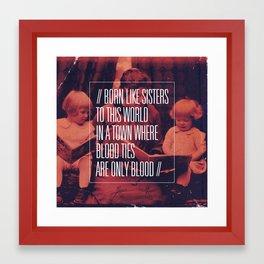 Regina Spektor - Better Framed Art Print