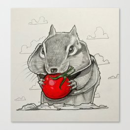Chip n' Tomaters Canvas Print