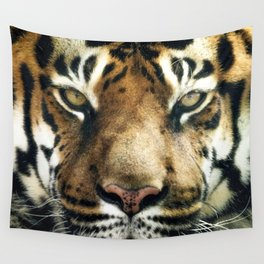 Face of Tiger Wall Tapestry