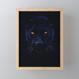 THE BLACK PANTHER Framed Mini Art Print