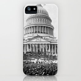 Teddy Roosevelt Inauguration - U.S. Capitol - 1905 iPhone Case