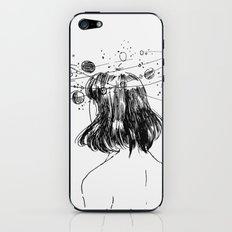 space head iPhone & iPod Skin