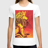 lion king T-shirts featuring Lion King by RICHMOND ART STUDIO
