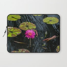Amazonian Water Lily Laptop Sleeve