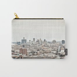 Downtown Detroit Skyline View from New Center Carry-All Pouch