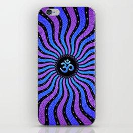 Shiva Om   Sacred geometry mandala iPhone Skin