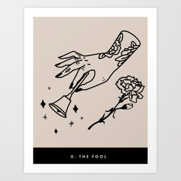 0. The Fool Art Print