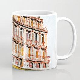 Watercolor Paris -  Storefront -  Watercolor Shop -  Store - Vintage illustration. Retro décor. Coffee Mug