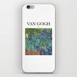 Van Gogh - Iris iPhone Skin