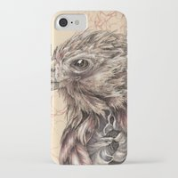 hawk iPhone & iPod Cases featuring Hawk by Adrian Chin