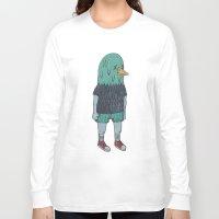 birdman Long Sleeve T-shirts featuring BIRDMAN by Levi Gosteli