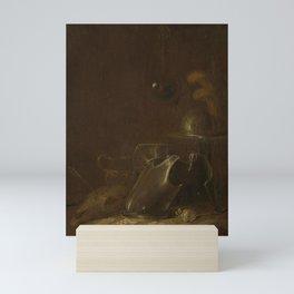 Jan Jansz Buesem - Still life with implements of war Mini Art Print