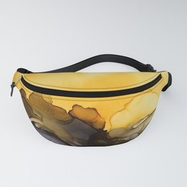 Black & Yellow Smoked Fanny Pack
