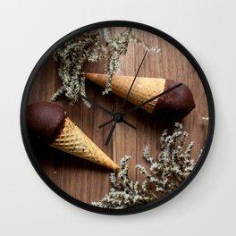 Ice creams Wall Clock