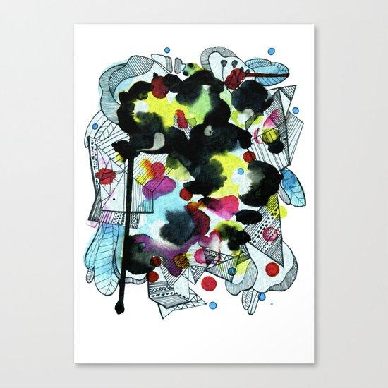 Hanging worlds  Canvas Print