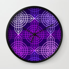 Op Art 158 Wall Clock
