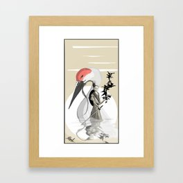 Release The Cranes Framed Art Print